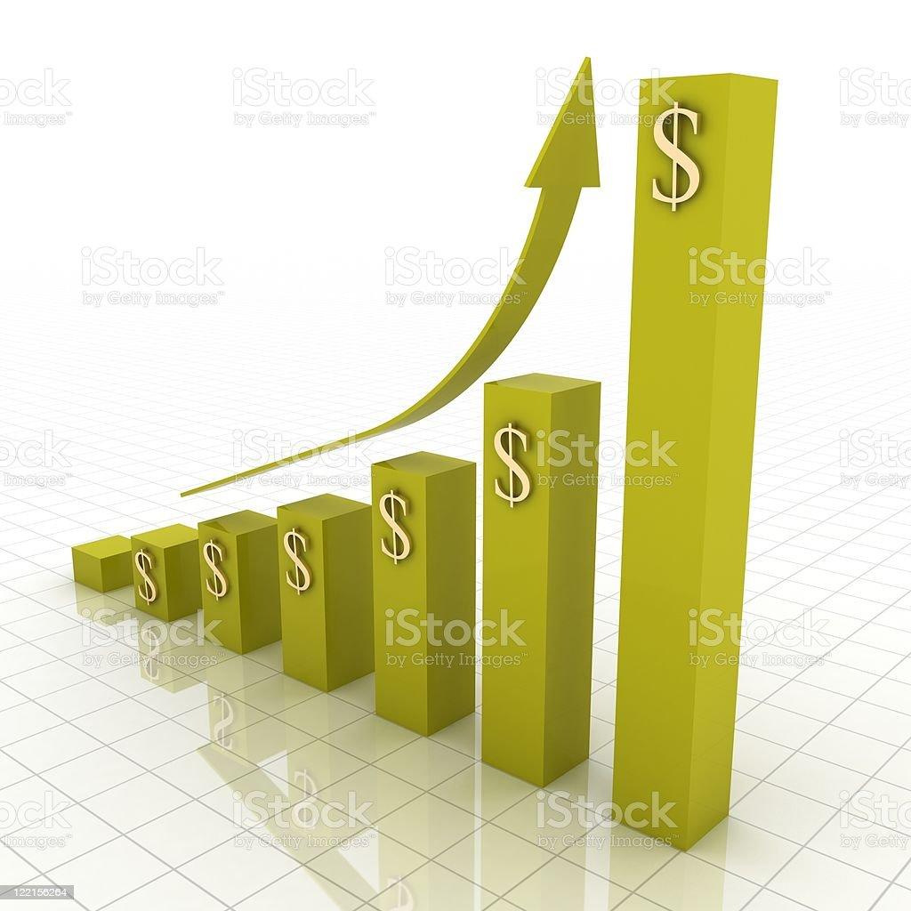 Financial Chart royalty-free stock photo