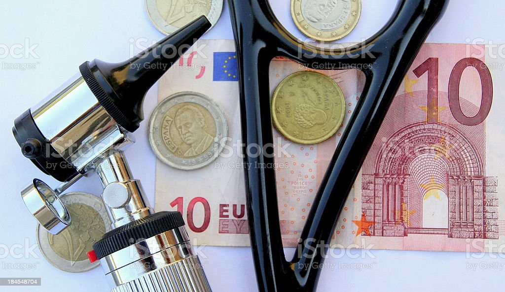 Financial check up stock photo