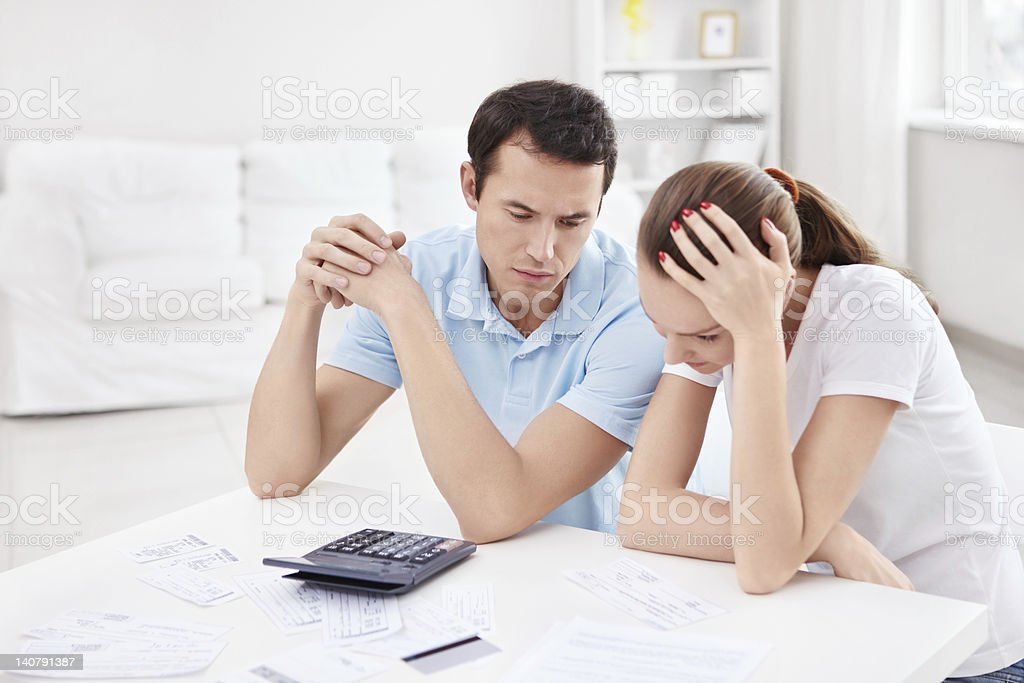 Financial collapse royalty-free stock photo