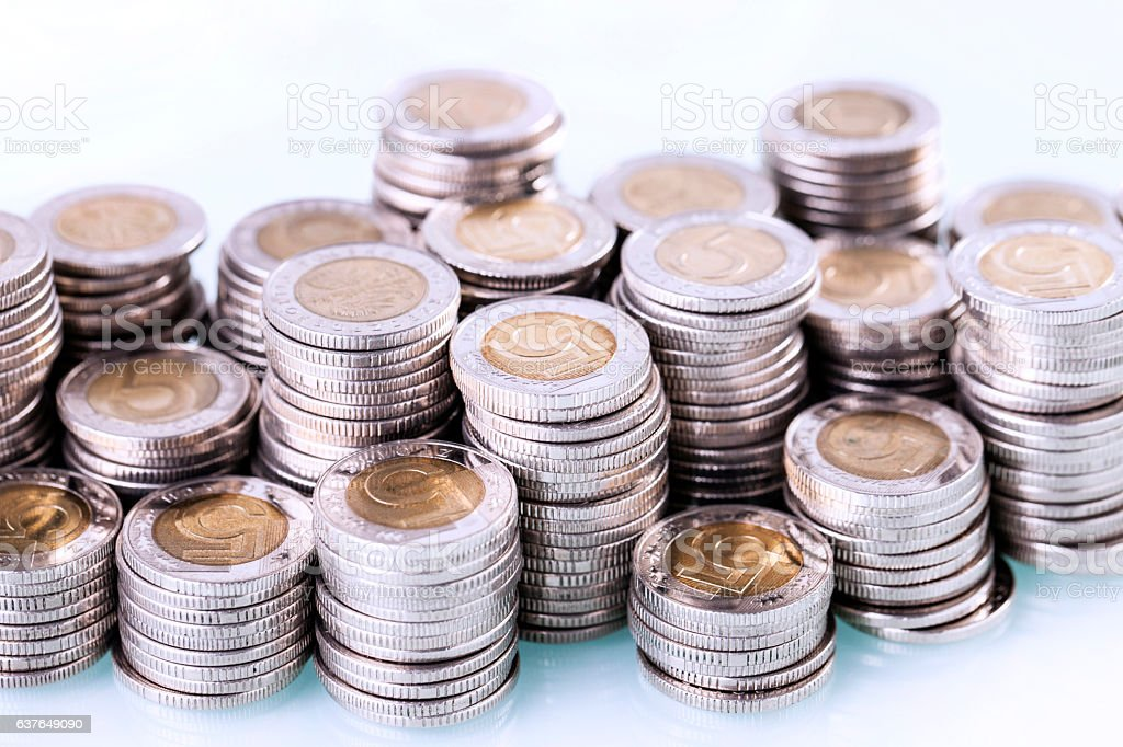 Financial concept, home saving. stock photo