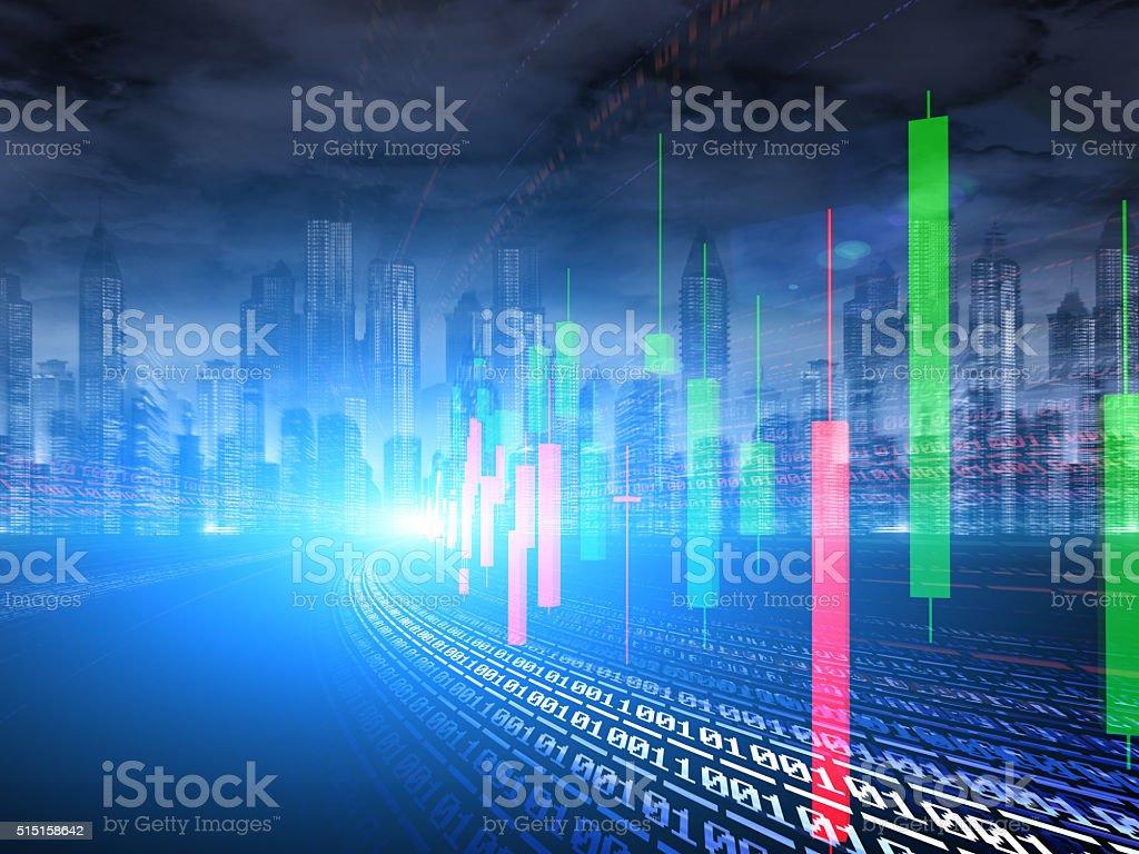 financial Concept stock photo