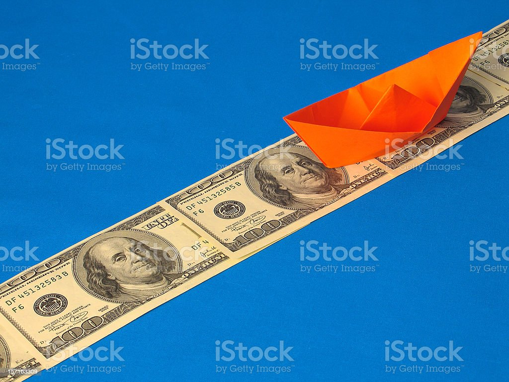 Financial Course I stock photo