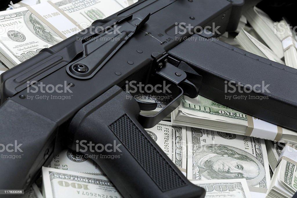 Financial crime royalty-free stock photo