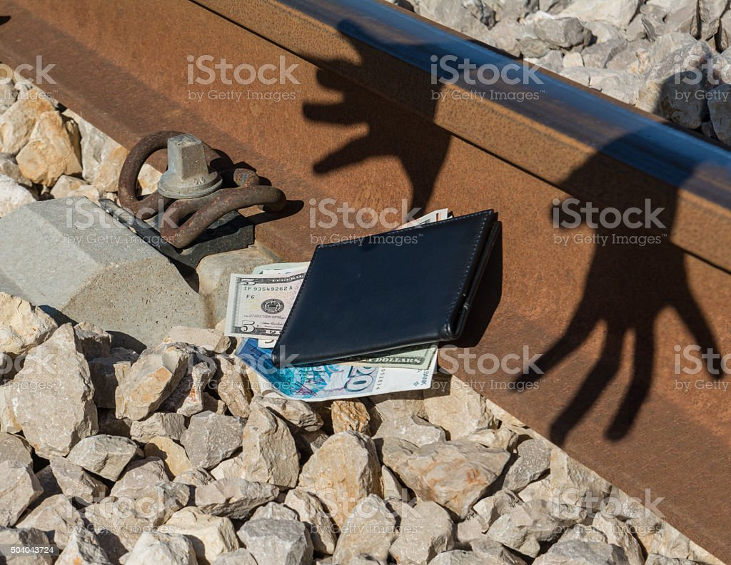 financial crime, theft, scam stock photo