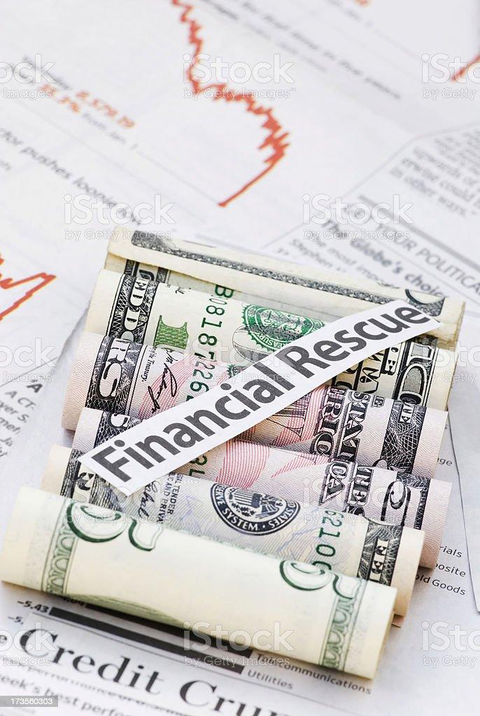 Financial crisis - II stock photo