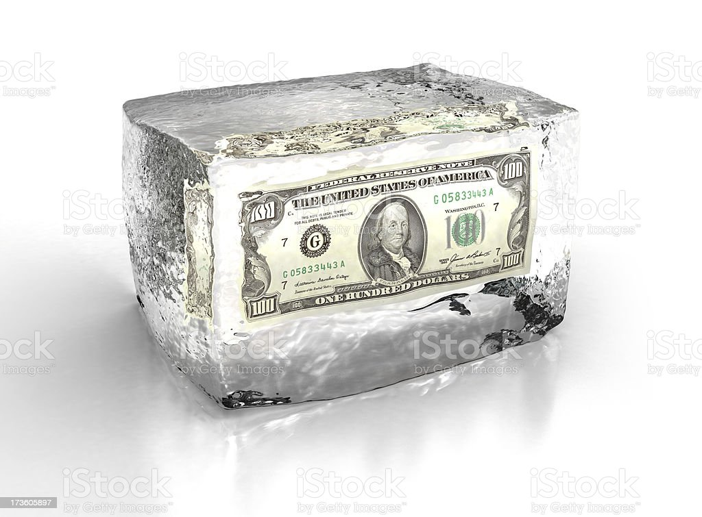financial crisis stock photo