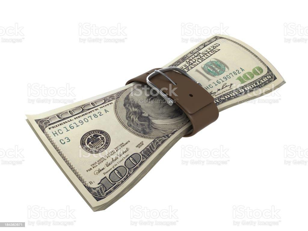 Financial Crisis royalty-free stock photo