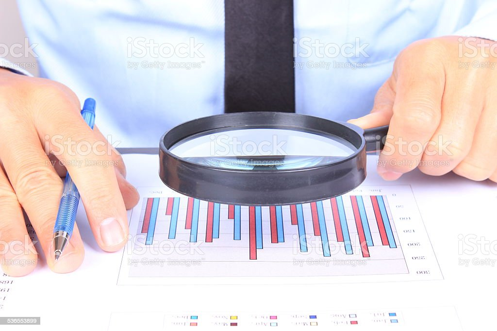 Financial Data Analysis Stock Photo 536553899 | Istock