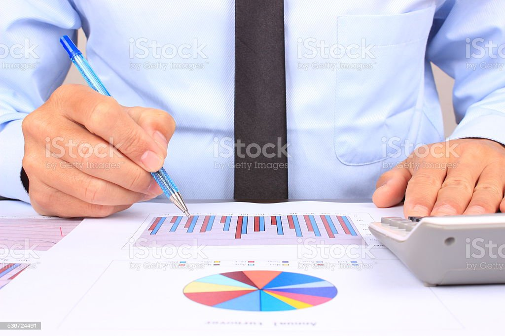 Financial Data Analysis Stock Photo 536724491 | Istock