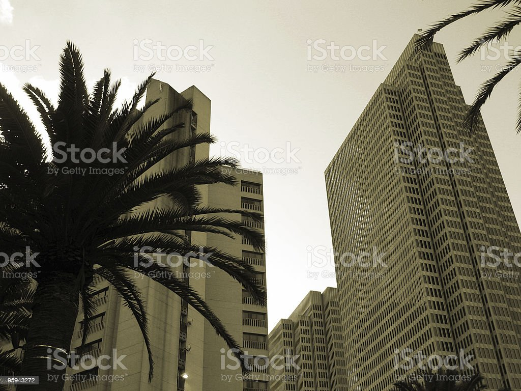 Financial District royalty-free stock photo