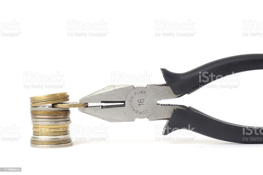 financial extraction royalty-free stock photo