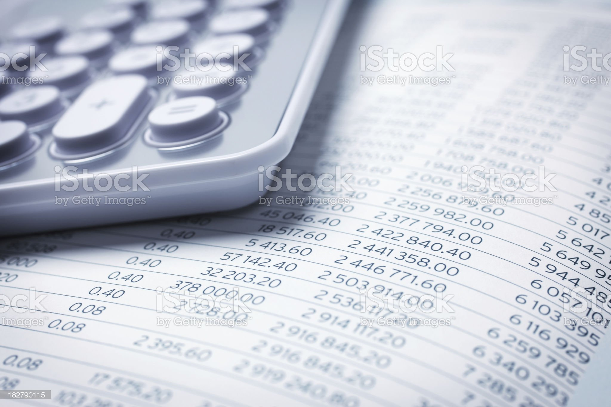 Financial Figures royalty-free stock photo