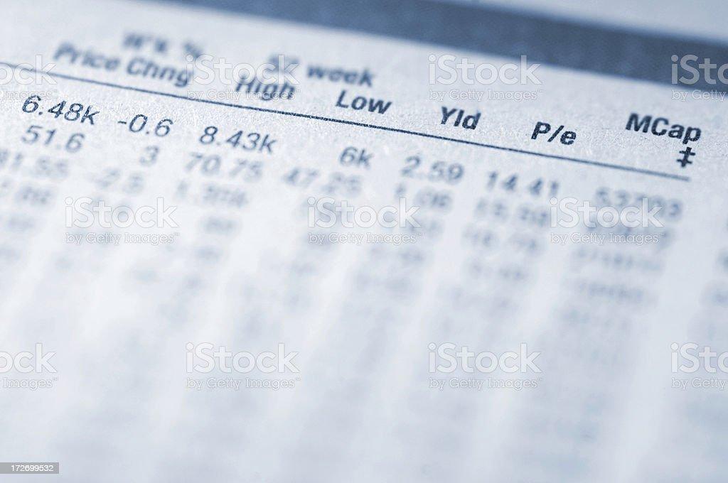 financial figures series stock photo