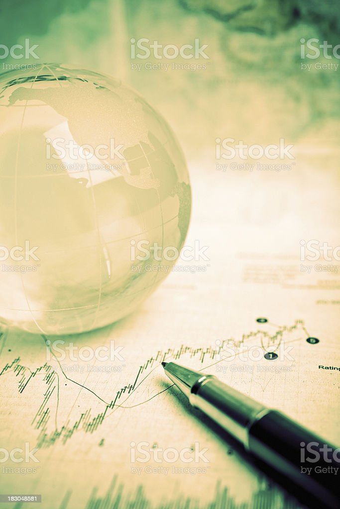 financial future royalty-free stock photo