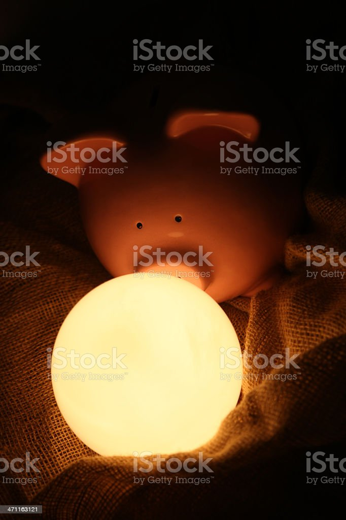 Financial future royalty-free stock photo