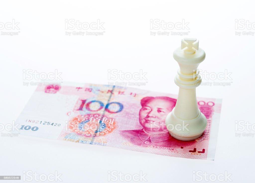 Financial games concept stock photo