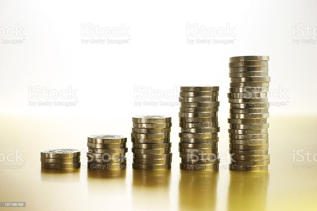 Financial Growth royalty-free stock photo