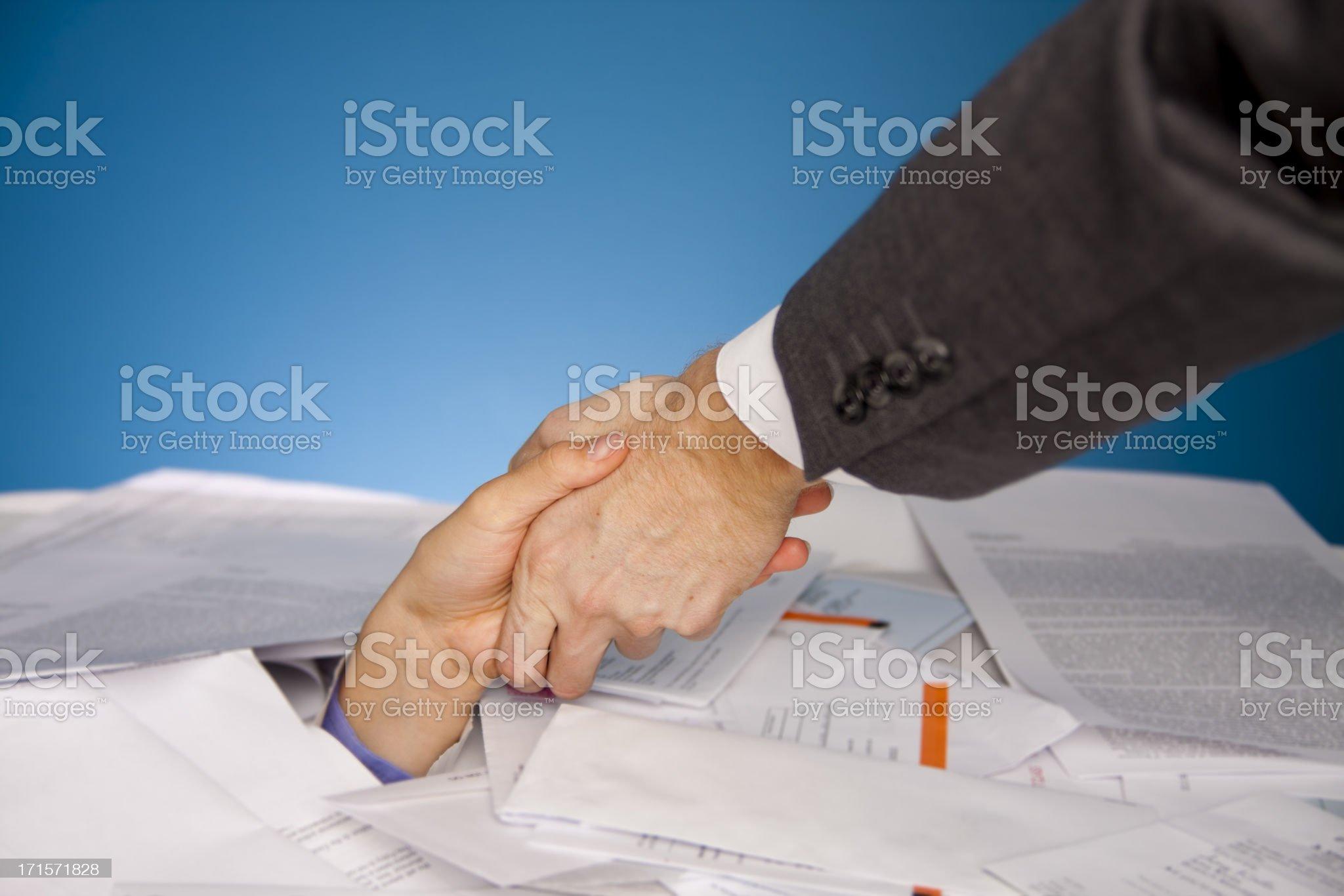 Financial help royalty-free stock photo