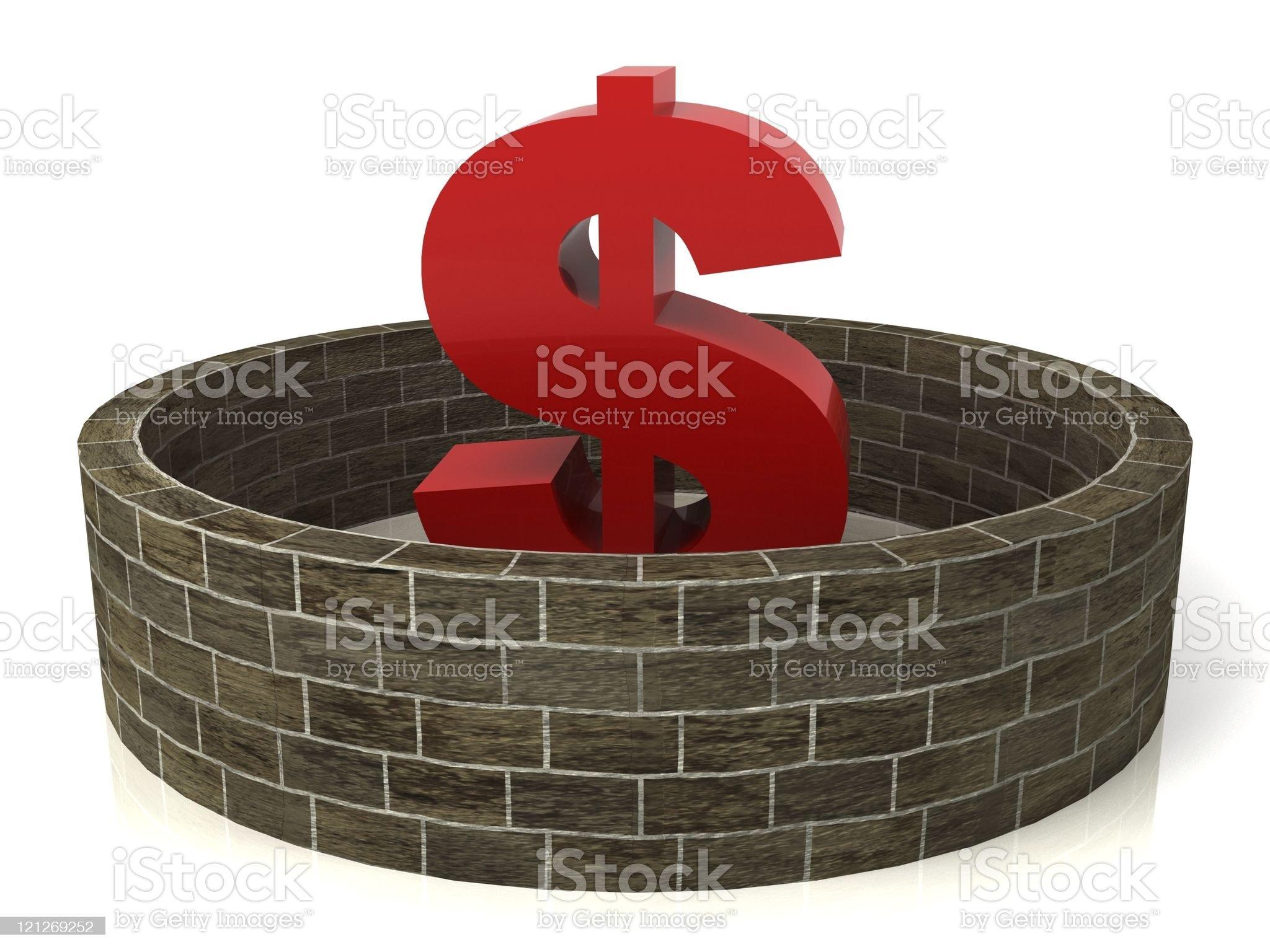 Financial Insurance royalty-free stock photo