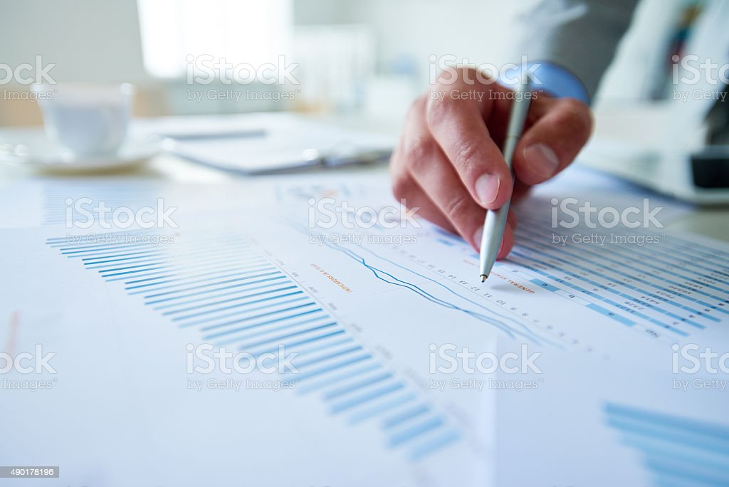 Financial investment stock photo