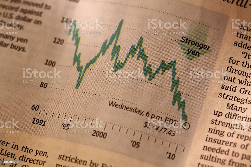 Financial market stock photo
