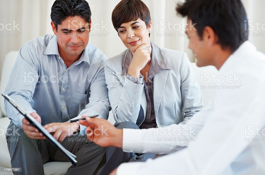 Financial matter stock photo