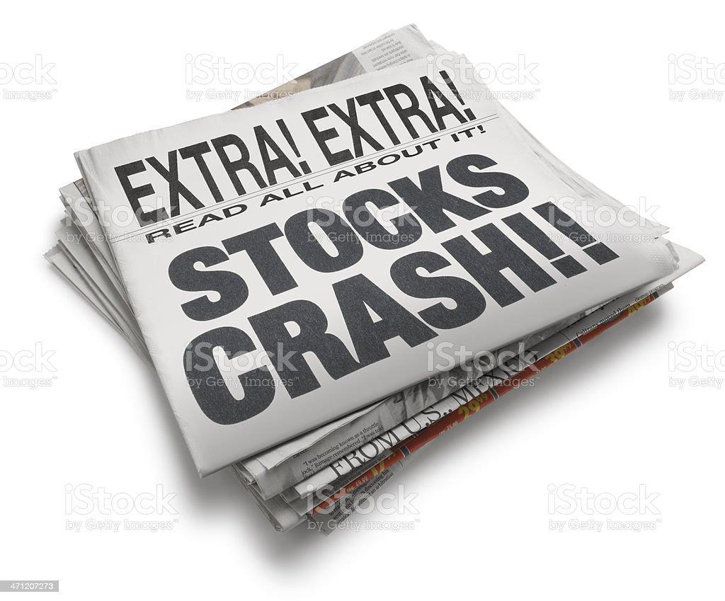 Financial News stock photo