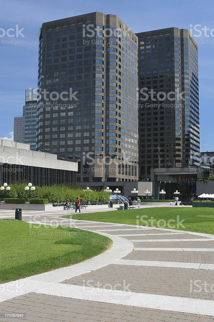 Financial Offices royalty-free stock photo