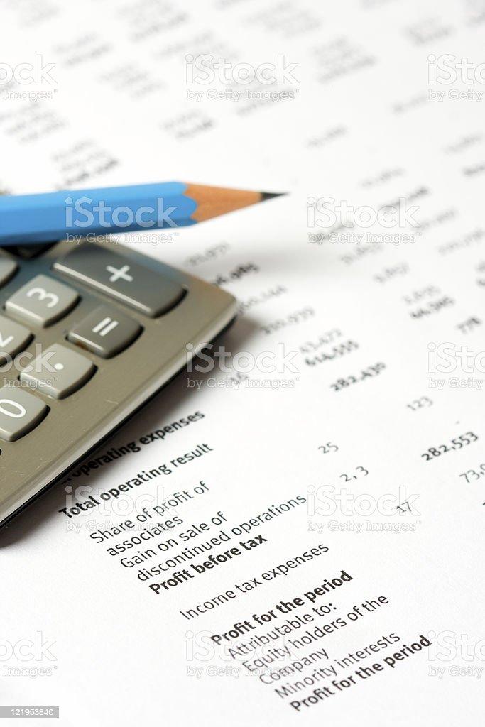 Financial stock photo