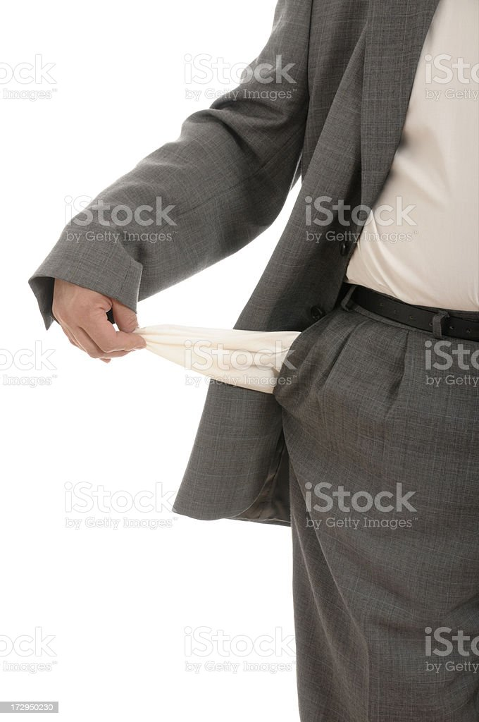 Financial problems - concept royalty-free stock photo