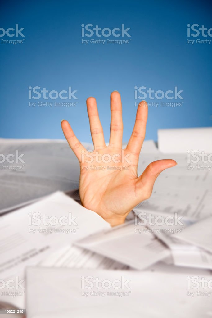 Financial problems royalty-free stock photo