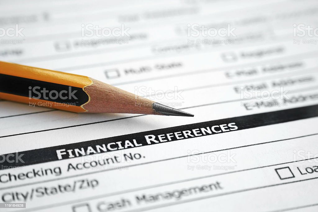 Financial references royalty-free stock photo