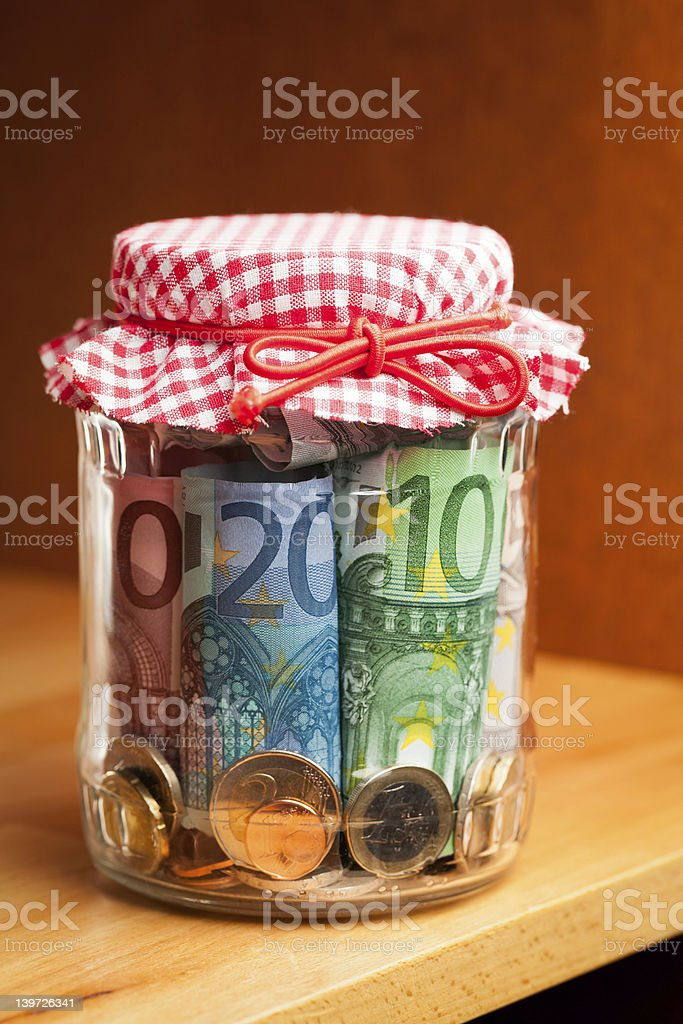 Financial reserves. royalty-free stock photo