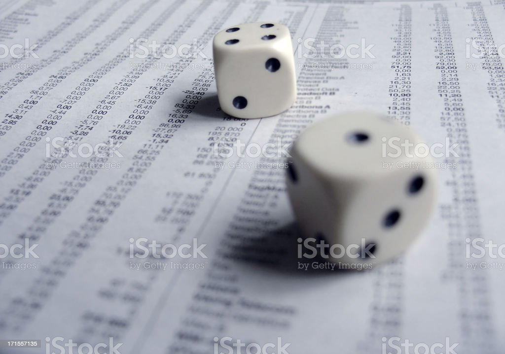 financial risk 2 royalty-free stock photo