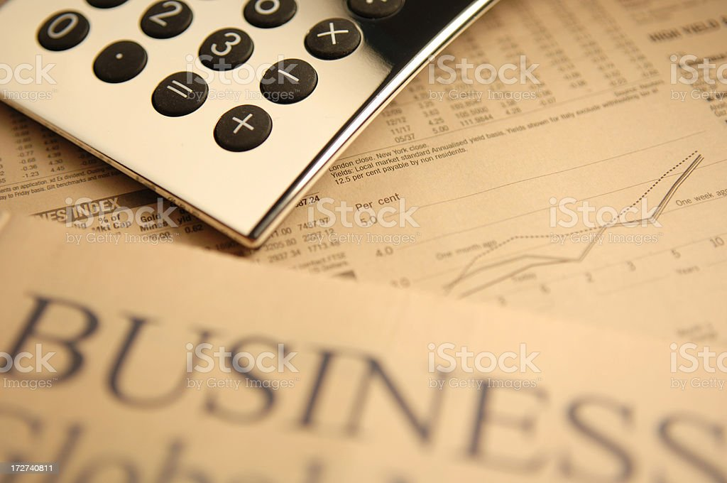 financial series stock photo
