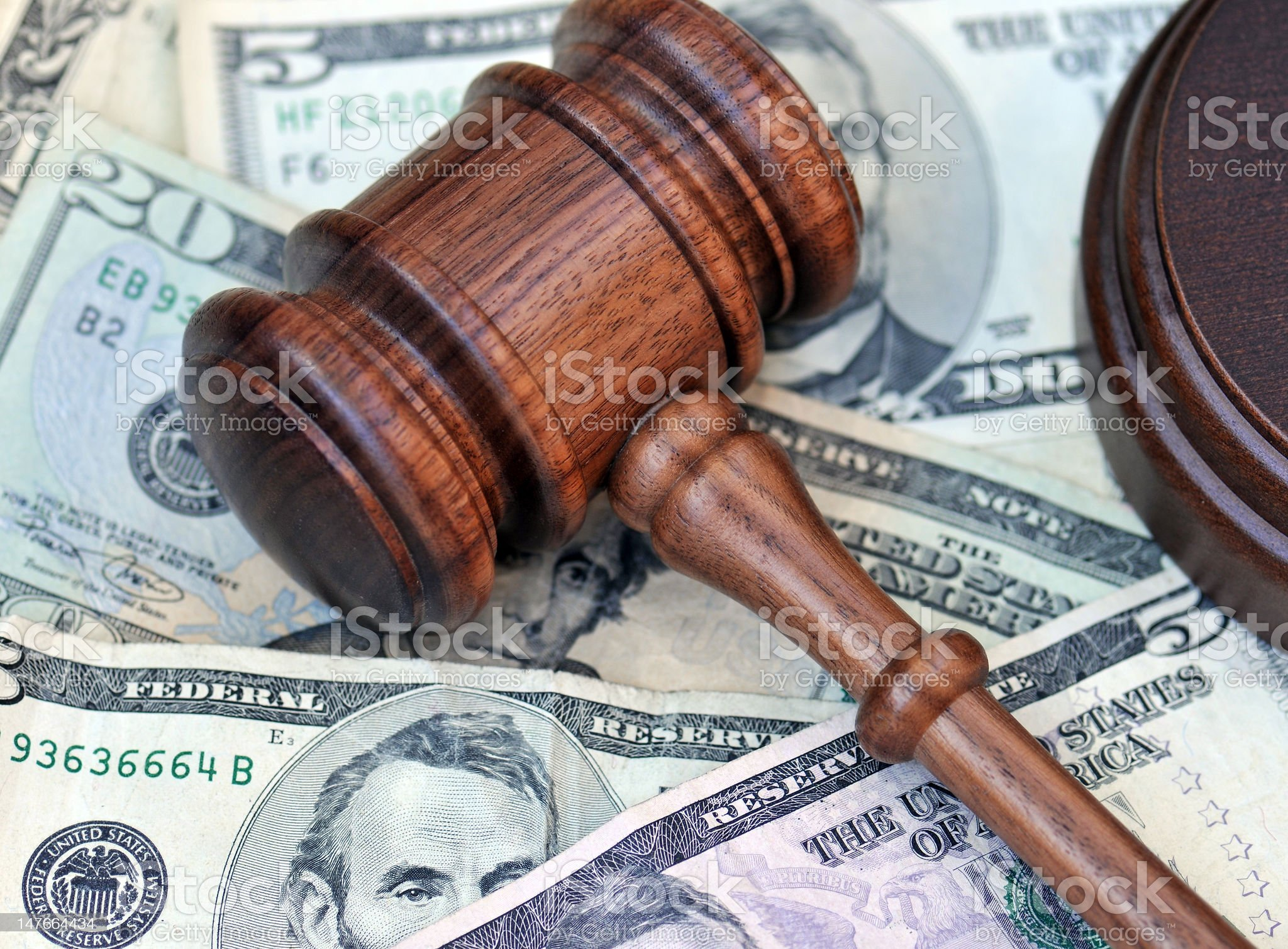 Financial Settlement royalty-free stock photo