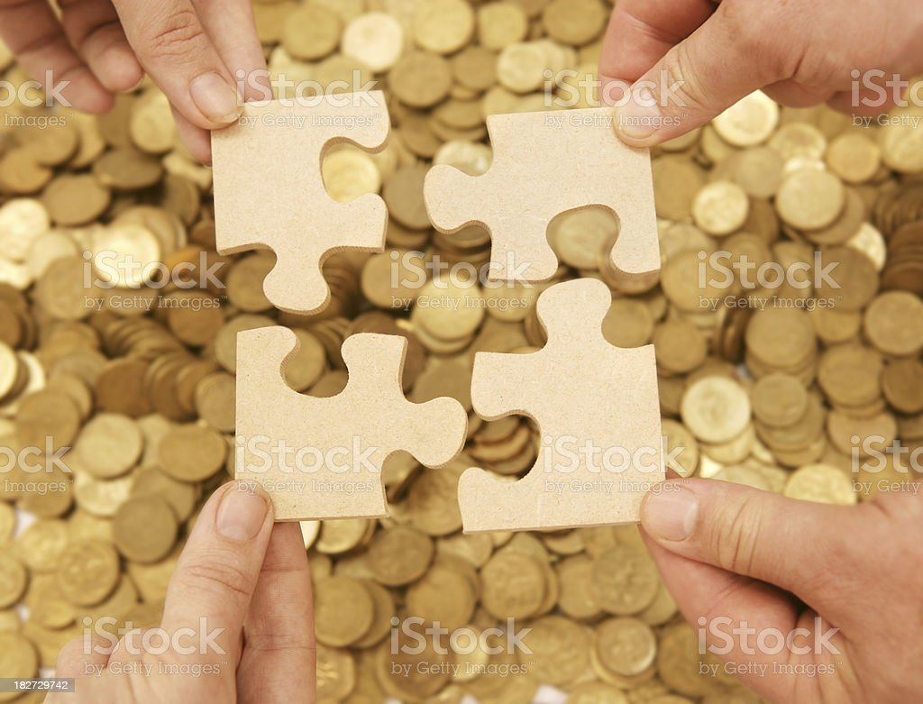 Financial Solution royalty-free stock photo