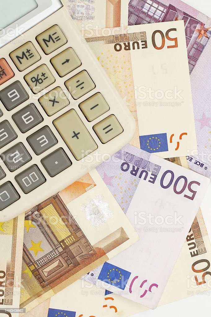 financial statement royalty-free stock photo
