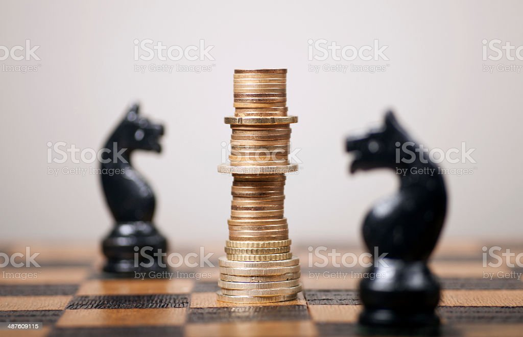 Financial Strategy stock photo