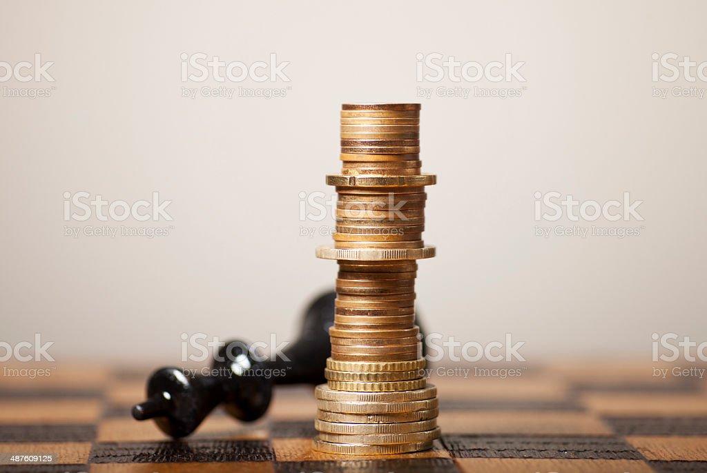 Financial Strategy stock photo