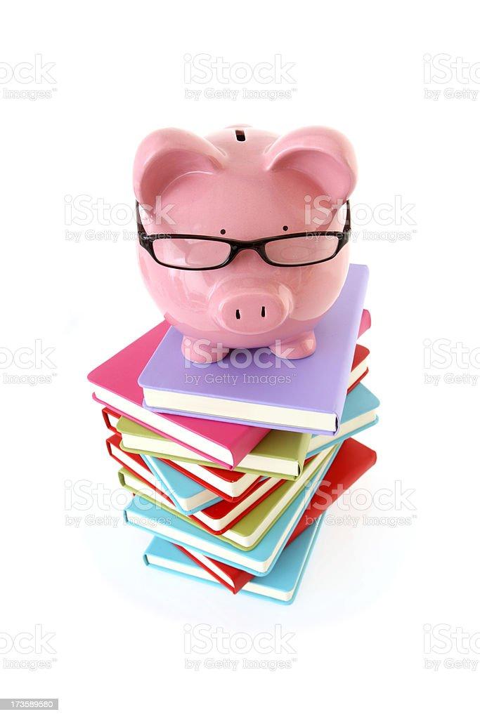 Financial Studies royalty-free stock photo
