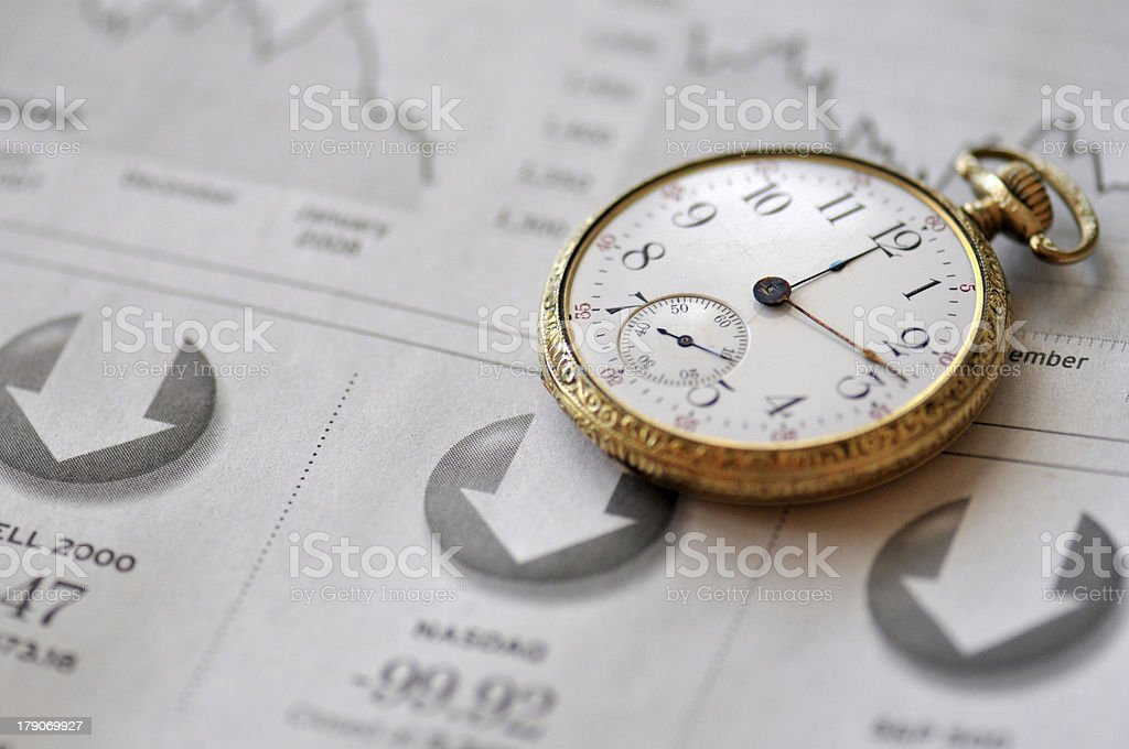 Financial Timing And Investment royalty-free stock photo