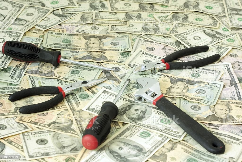 Financial Tools stock photo