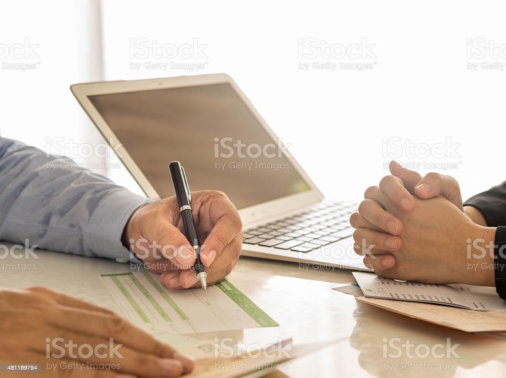 Financial Transactions stock photo