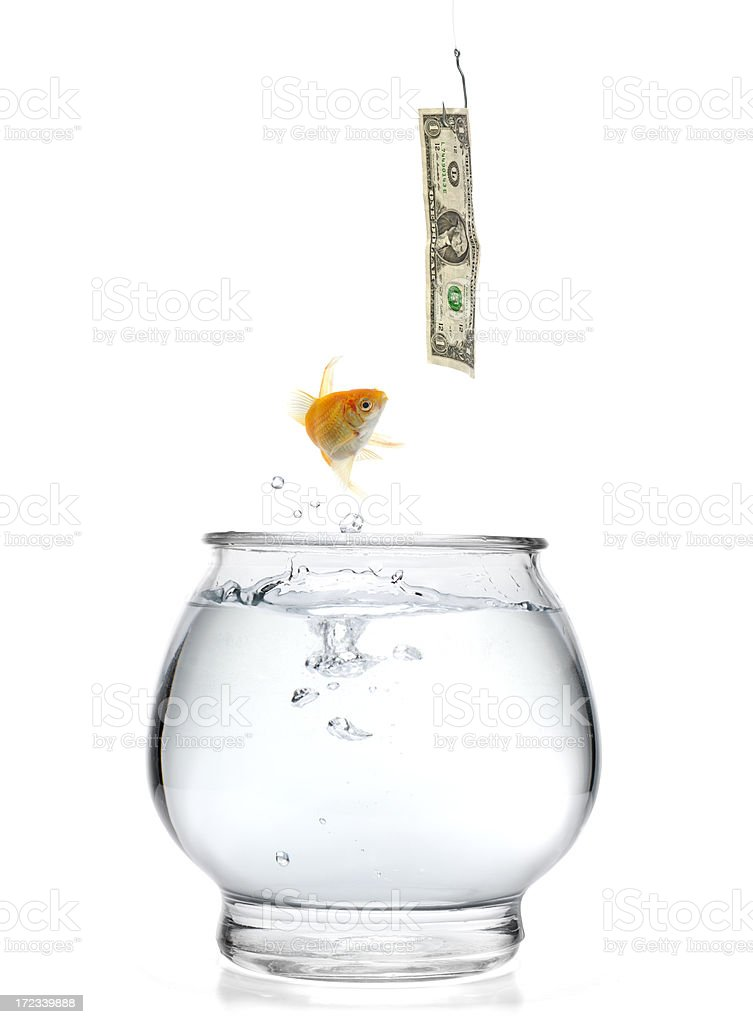 Financial Trap royalty-free stock photo
