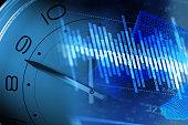 Financial wealth accumulation, the stock market data statistics