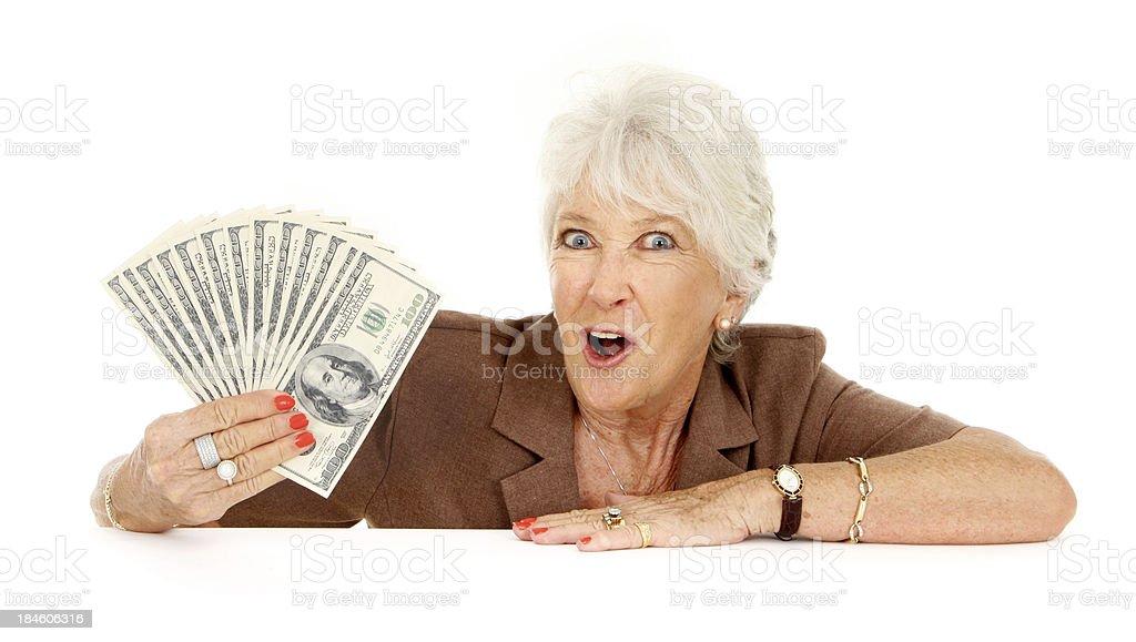 Financial Winner royalty-free stock photo