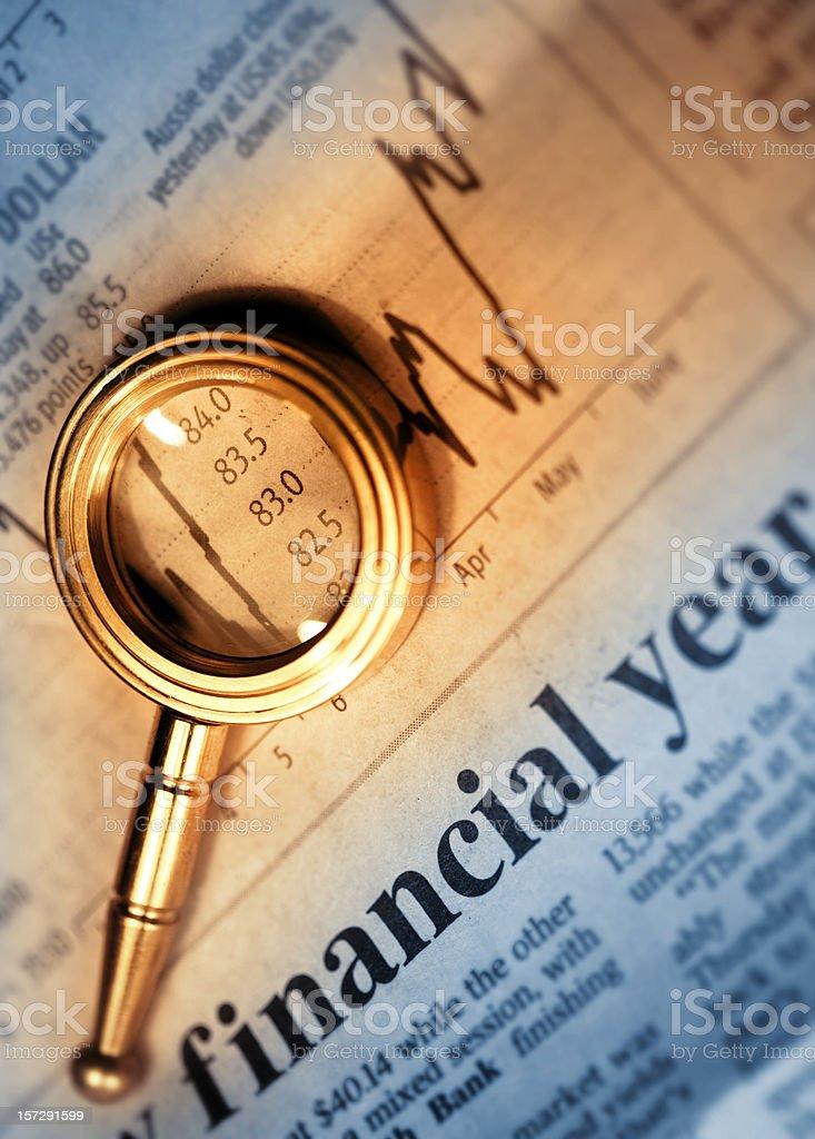 Financial Year royalty-free stock photo