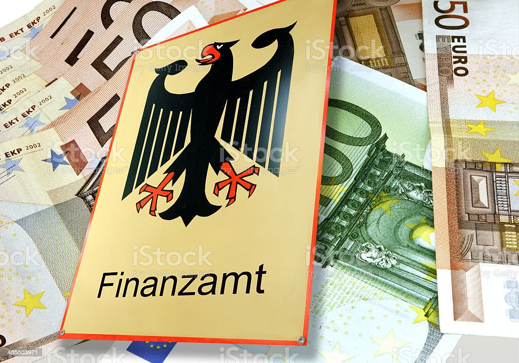Finanzamt stock photo