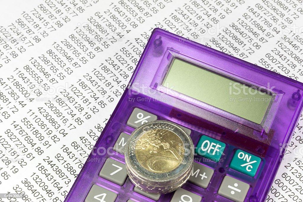 Finanzen und Geld stock photo
